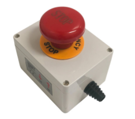 400A Mushroom Emergency Stop Button In Casing