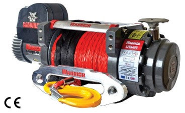 Samurai 17500 (7938kg) Electric Winch with Synthetic Rope