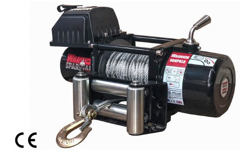 Spartan 5000 Electric Winch C/W Steel Cable