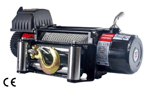 Spartan 9500 Electric Winch C/W Steel Cable