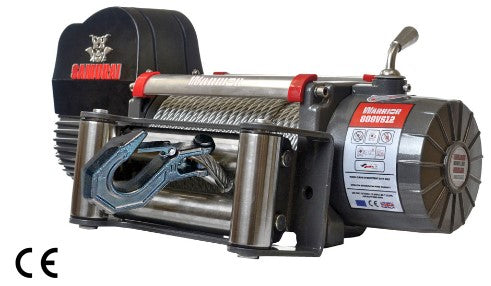 Samurai 8000 (3636kg) Electric Winch with Steel Cable