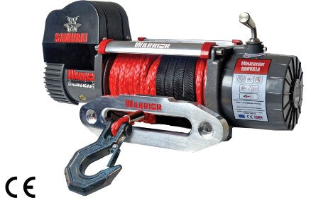 Samurai 8000 (3636kg) Electric Winch with Synthetic Rope