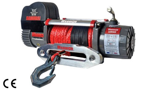 Samurai 12000 (5443kg) Electric Winch with Synthetic Cable