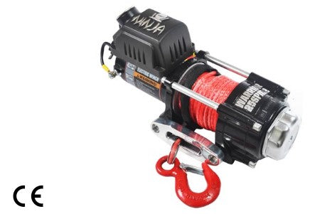 Ninja 2500 Electric Winch C/W Synthetic