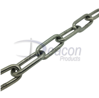 Stainless Steel Long Link Chain to DIN 763 Ref 166-2