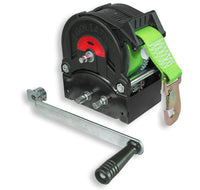 GO-TS1600 Trailer winch with 8m strap and hook 1600kg Ref:151.7.5
