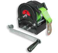 GO-TS2200 Trailer winch with strap and hook 2200kg Ref:151.7.6