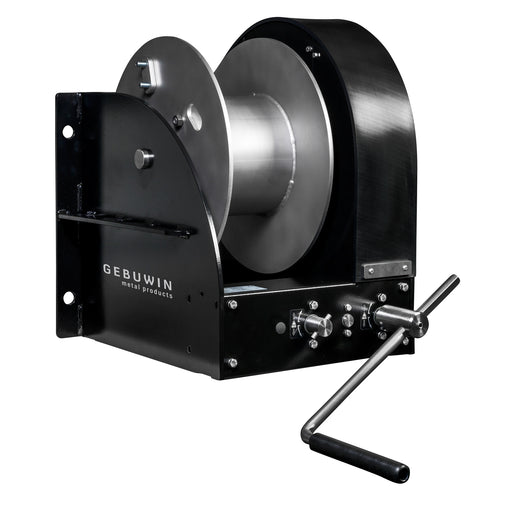 GEBUWIN - WW TYPE Single Drum Marine Worm Gear (WG) Winch (Type D/MR)