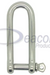 Stainless Steel Long Dee Shackle (166-16)