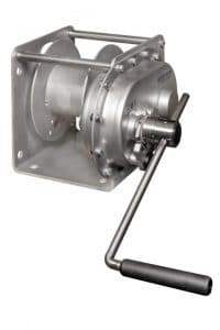 GEBUWIN - TC1000 and TC1500 SS/FS SPUR GEAR CONSOLE WINCH - STAINLESS STEEL FINISH