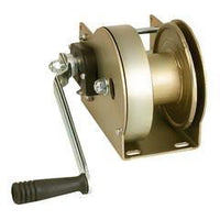 GO-AFDPS - Goliath Zinc Plated Webbing Winch