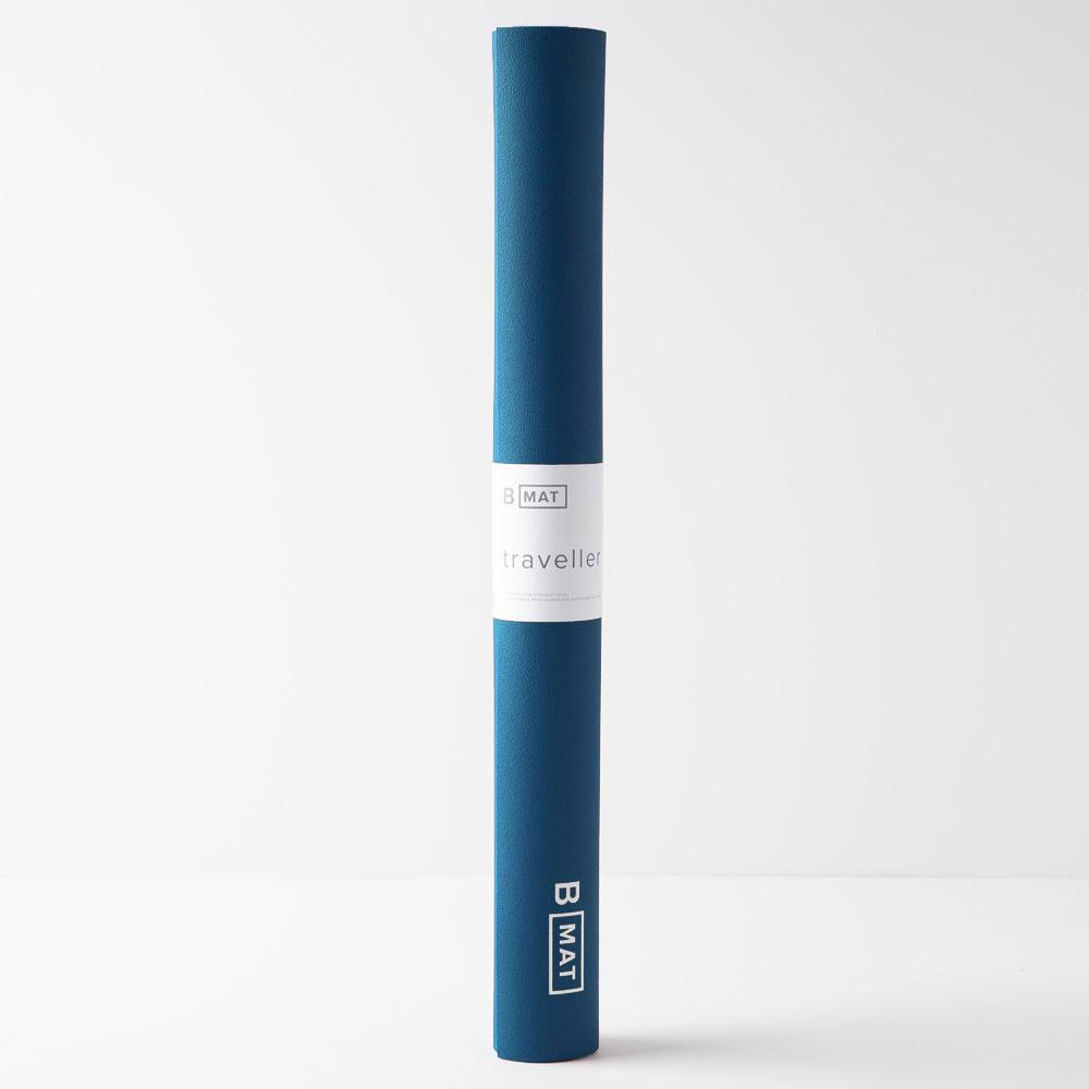B MAT Traveller Long 2mm Deep Blue, B Yoga
