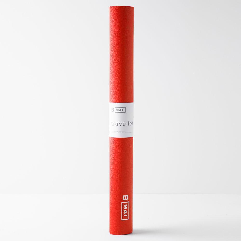 B MAT Traveller Long 2mm Sunrise Red, B Yoga