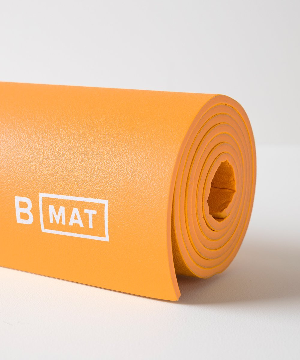 B MAT Strong Long 6mm Saffron, B Yoga