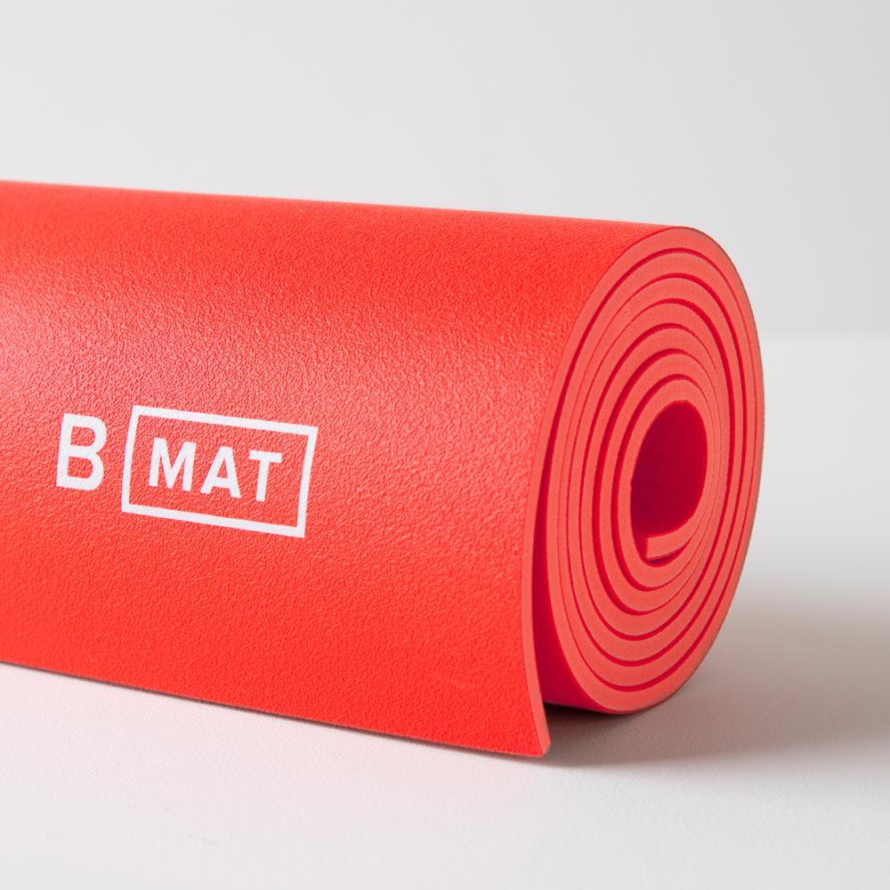 B MAT Strong Long 6mm Sunrise Red, B Yoga