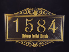 Personalized Address Signs / Plaques