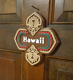Polynesian Themed Sign - Custom / Personalized Lettering Available!