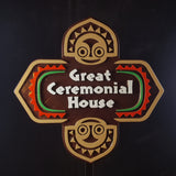Polynesian Themed Longhouse Sign / Plaque - Great Ceremonial House (Disney Inspired Prop Replica)