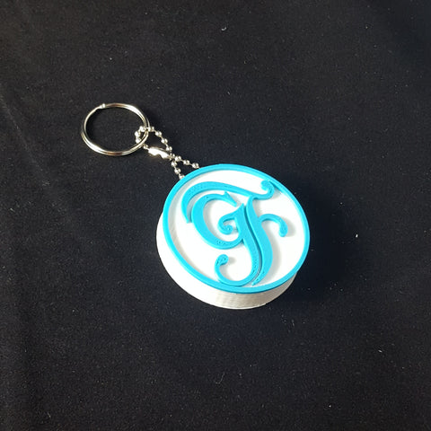 Grand Floridian Themed Keychain