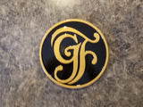 Grand Floridian Inspired Plaque / Sign - Dual Black / Gold Coloring ( Disney Prop Inspired Replica )