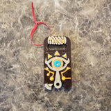 Zelda Breath of the Wild Inspired Christmas Ornament Prop Replica - Sheikah Slate Ornament