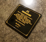 Adventureland Dedication Plaque Replica Inspired Sign - Walt Disney Quote ( Disney World Prop Inspired Replica )