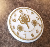It's a Small World Clock Face Inspired Sign / Plaque (Disney World Prop Inspired Replica)