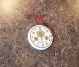 It's a Small World Clock Face Inspired Christmas Ornament (Disney World Prop Inspired Replica)