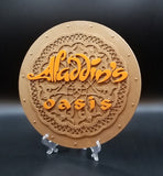 Aladdin's Oasis Welcome Plaque Inspired Replica Sign (Disneyland Prop Inspired Replica)