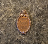 Haunted Mansion Welcome Foolish Mortals Inspired Fridge Magnet ( Disney / Park Prop Inspired Replica)