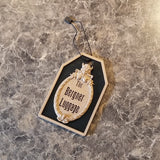 Personalized Haunted Mansion Inspired Luggage Tag - Your Name Here! (Disney Prop Inspired Replica)