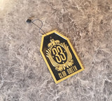 Personalized Disney Club 33 Inspired Luggage Tag - Your Name Here! ( Disney Prop Inspired Replica )