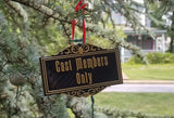 Cast Members Only Plaque DW Inspired Sign Christmas Ornament ( Disney / Park Prop Inspired Replica )