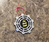 Expedited wohwee Fallout Vault Door Themed Christmas Ornament x 3