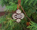 Polynesian Themed Christmas Ornament - Set of 4