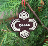 Polynesian Themed Christmas Ornament - Ohana