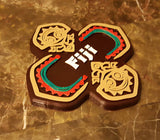 Polynesian Themed Fiji Longhouse Tiki Sign / Plaque