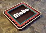 Polynesian Themed Aloha Sign / Plaque
