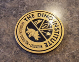 DINOSAUR Dinoland U.S.A. Dino Institute Inspired Logo Animal Kingdom Sign Replica