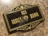 Personalized Haunted Mansion Inspired Address Sign Prop / Plaque Replica (Disney Prop Inspired Replica)