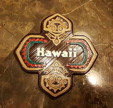 Polynesian Themed Tiki Sign Replica - Custom / Personalized Lettering Available