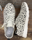 Grey Leopard Print sneakers