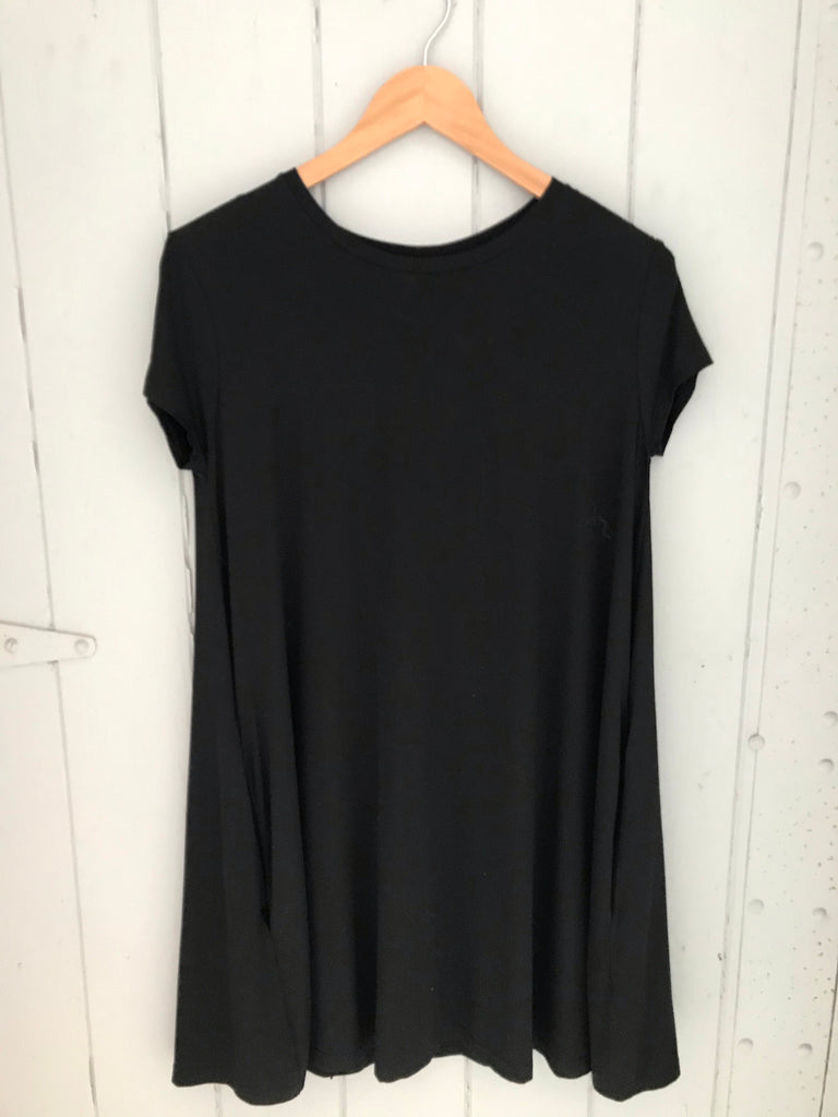 PIKO swing style dress.. Black