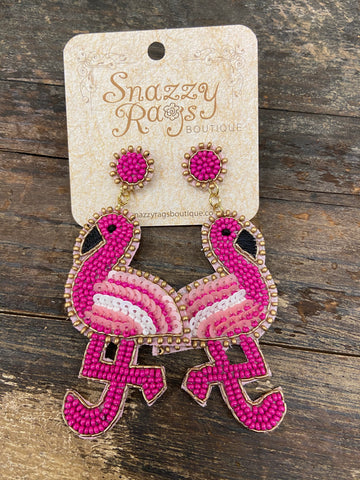 Bird Statement earrings