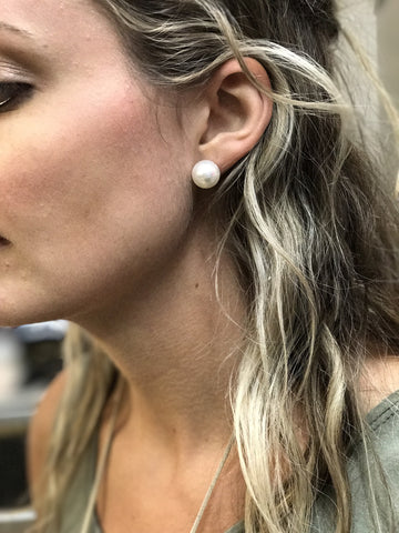 Softball earring