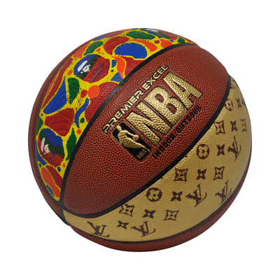 "Spalding Basketball ""Hype Ball"" w/ Case"