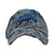 Canvas Vintage ACID WASHED & PAINTED Dad Hat Denim