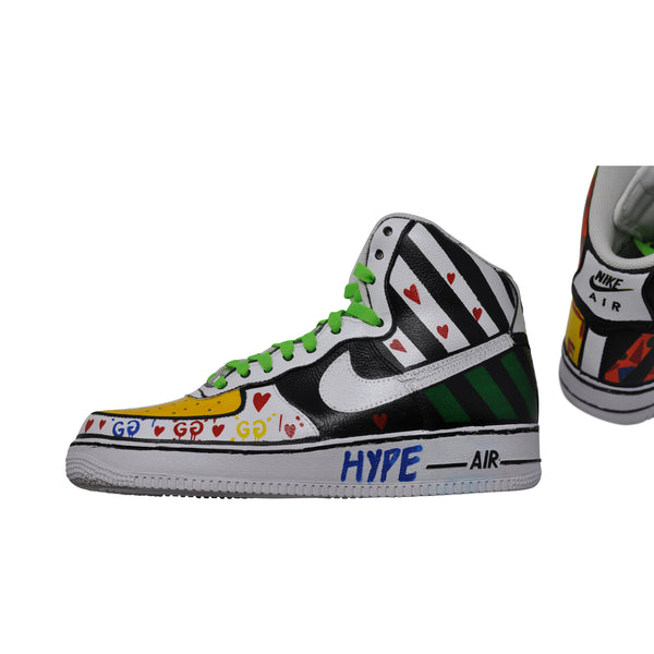 "Nike Air Force 1 High ""Hype"" Size 9.5"