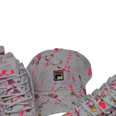 "FILA Disruptor II ""Pink Affair"" - Splash Pack w/ Hat"