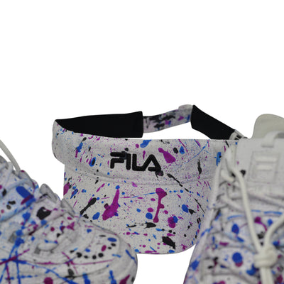 "FILA Disruptor II ""Wildberry"" - Splash Pack w/ Visor"